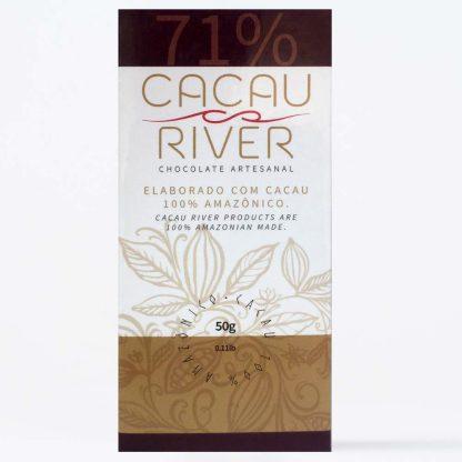 chocolate amargo da amazônia