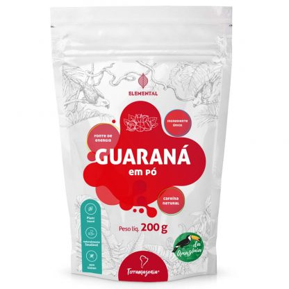 guaraná desidratado