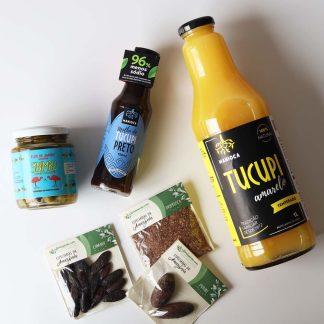 ingredientes e produtos da amazonia