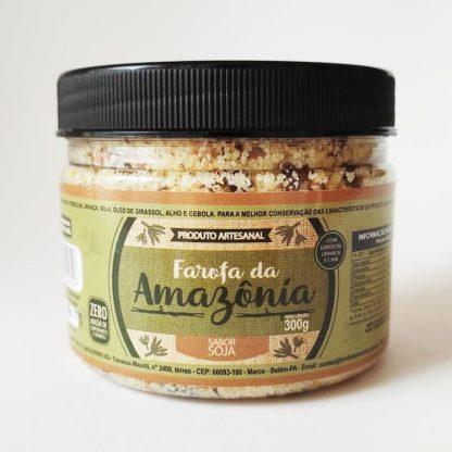 Farofa da Amazônia com soja
