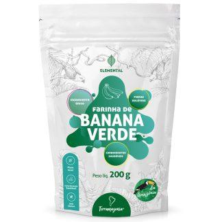 banana verde desidratada