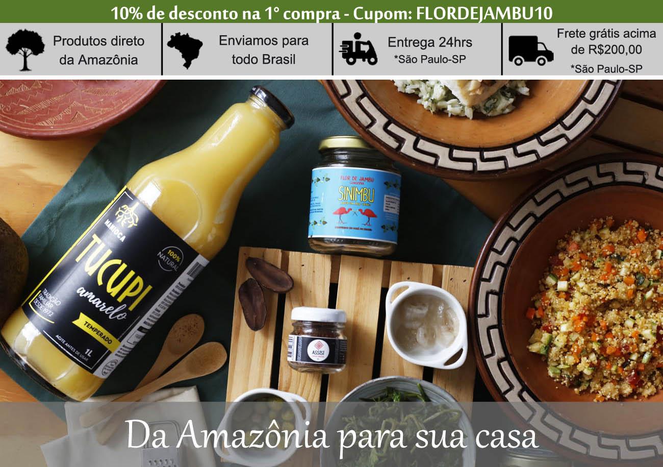 ingredientes da amazônia